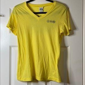 Stussy Girls' V-Neck Tee Shirt